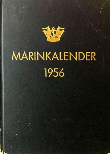 Marinkalender 1956. Årgång 19. Utgiven av Sveriges Flotta. Förening för sjövärn och sjöfart