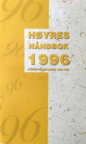 Høyres håndbok 1996. Stortingssesjonen 1995-1996
