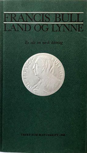 Land og lynne. En tale om norsk diktning. Trykt som manuskript