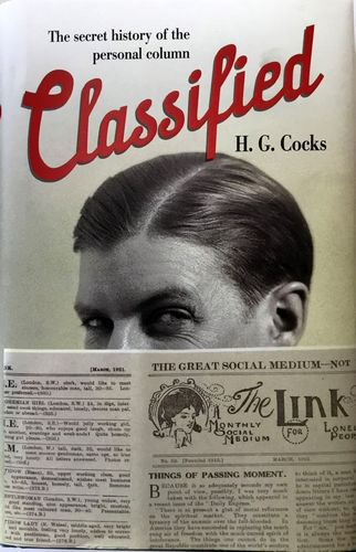 Classified. The secret history of the personal column.