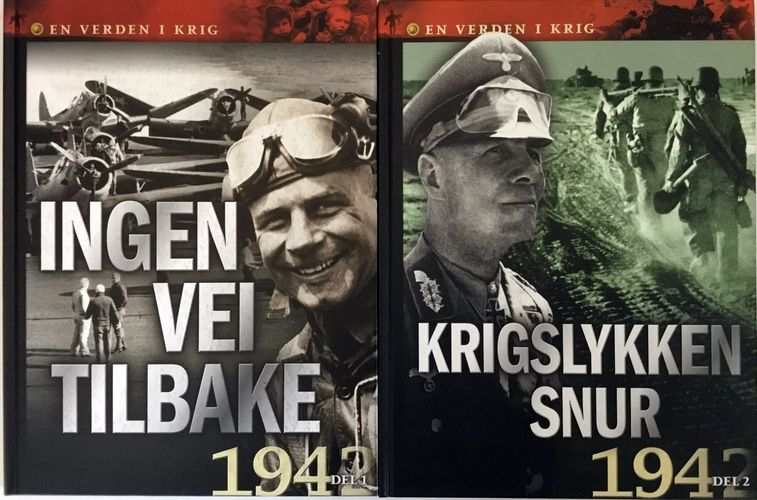 En verden i krig. 4 og 5. Ingen vei tilbake, 1941, del 1. Krigslykken snur, 1941, del 2