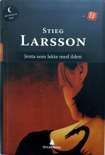 Jenta som lekte med ilden. Oversatt fra svensk av Elisabeth Bjørnson
