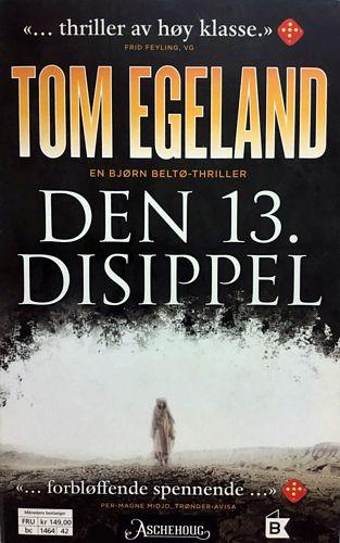 Den 13. disippel. En Bjørn Belto-thriller