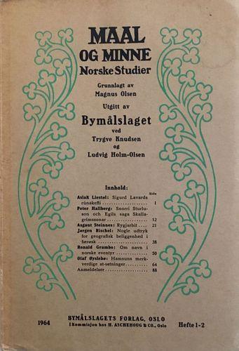 Hefte 1-2 1964