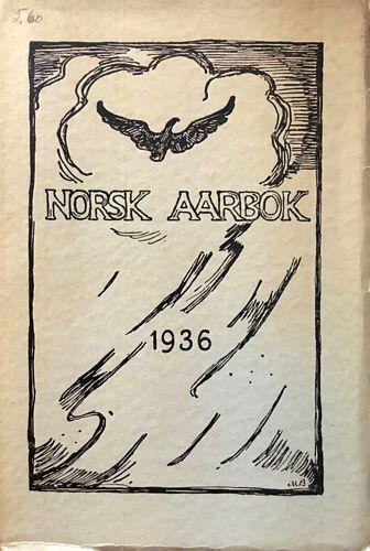 1936. 17te årgang. Utgjevi ved Gustav Indrebø