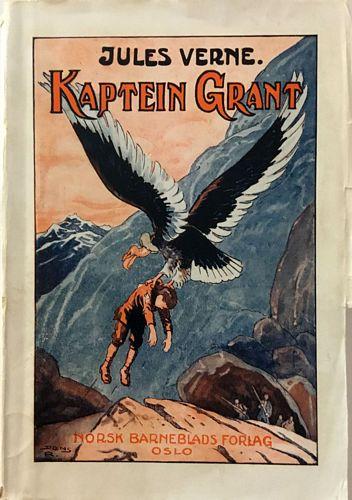 Kaptein Grant og borna hans. På norsk av Johannes Horvei