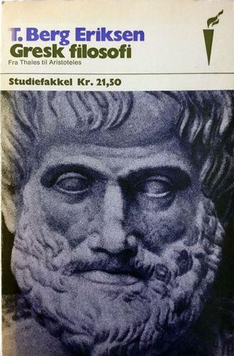 Den greske filosofi