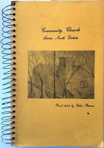 Aneta Community Church. Ladies Aid Cookbook. Judy Rusten (edtor)