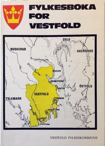 Fylkesboka for Vestfold 1988-91
