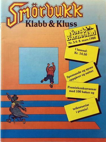 Smørbukk. Klabb & Kluss. Redaktør Olav Norheim