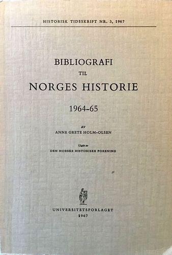 Bibliografi til Norges Historie 1964-65
