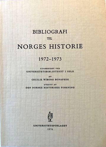Bibliografi til Norges Historie 1972-63