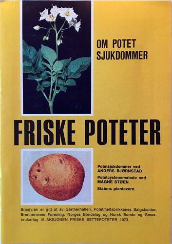 Friske poteter. Potetsjukdommer ved Anders Bjørnstad. Potetcystenematode ved Magne Støen