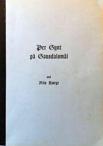 Per Gynt på Gausdalsmål