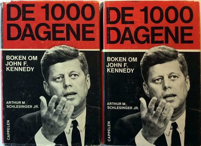 De tusen dagene. Boken om John F. Kennedy. I-II