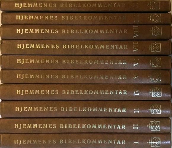 Hjemmenes bibelkommentar. Bind I-X. Til norsk ved Oddvar Nilsen