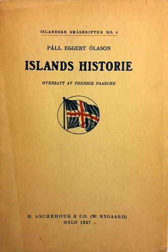 Islands historie. Oversatt av Fredrik Paasche